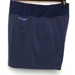 Brooks Run Happy Running Shorts Blue Size XL = 16